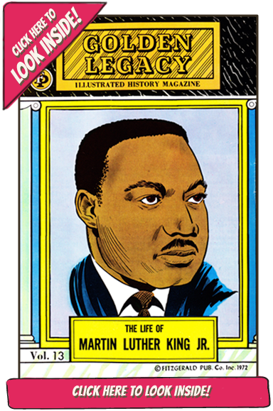 Look Inside this issue of the Illustrated Black History Magazine Series