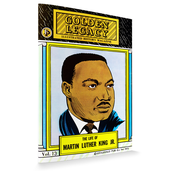 Golden Legacy Illustrated Black History Magazine Comic Book Series