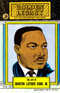 Martin Luther King Jr Illustrated Black History Magazine