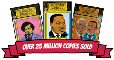 Illustrated Black History Magazine Series - Over 12 Million Copies sold!