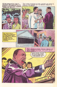 Dr Martin Luther King Comic Book